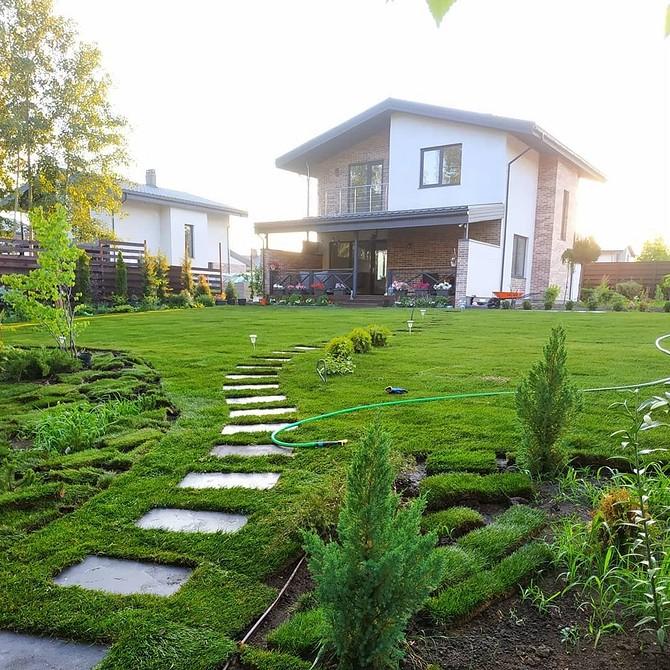 Ландшафтный дизайн дачного участка 12 соток: 69 фотоидей и советы по обустройству