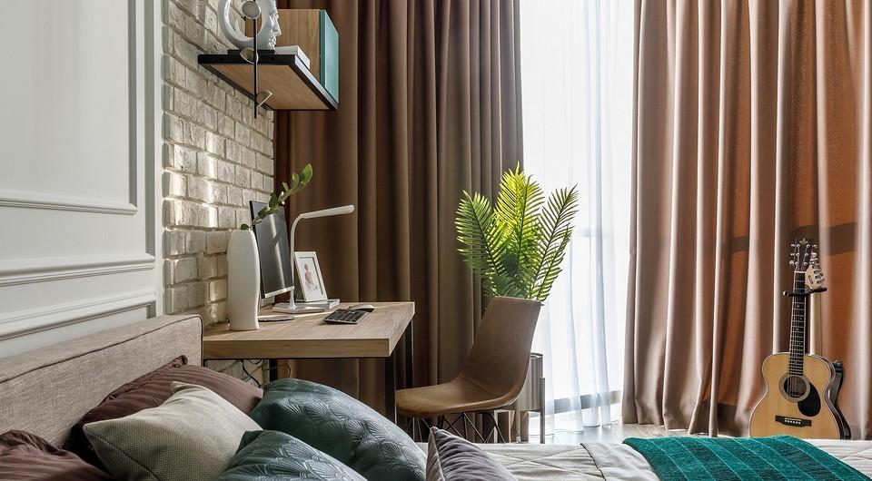6 простых и стильных идей для оформления рабочего места в спальне