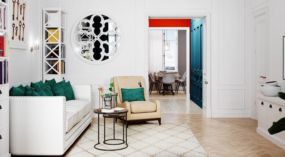 Планировка 3-комнатной квартиры: особенности и идеи