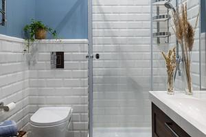 Оформляем дизайн маленькой ванной с душевой
