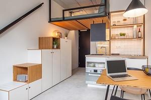 6 квартир-студий площадью 18 кв. м с идеальным дизайном и функционалом