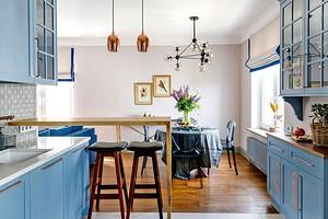 5 красивых кухонь, которые оформили дизайнеры