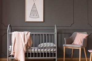 Как оформить нескучный интерьер детской в серых тонах
