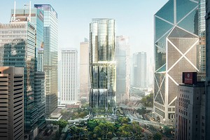 Студия Заха Хадид построит небоскреб на самом дорогом участке в мире