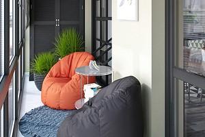 Как оформить дизайн балкона с панорамным остеклением: важные советы