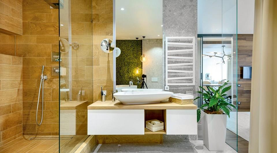 5 дизайнерских ванных комнат, которые вам понравятся
