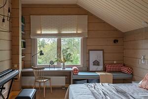 Оформляем дизайн спальни в мансарде (71 фото)