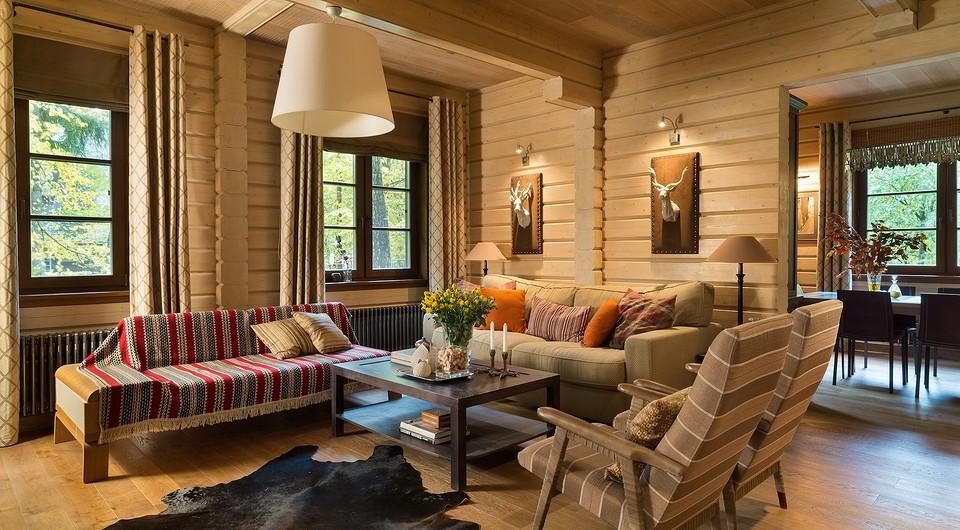 Уютный дом, в котором вы бы захотели провести осень