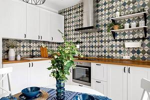 Дизайн фартука для кухни (70 фото)