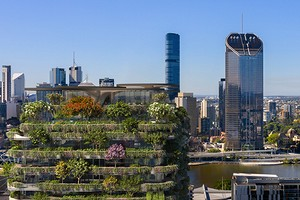 Самый большой вертикальный сад: как будет выглядеть жилое экоздание в Австралии
