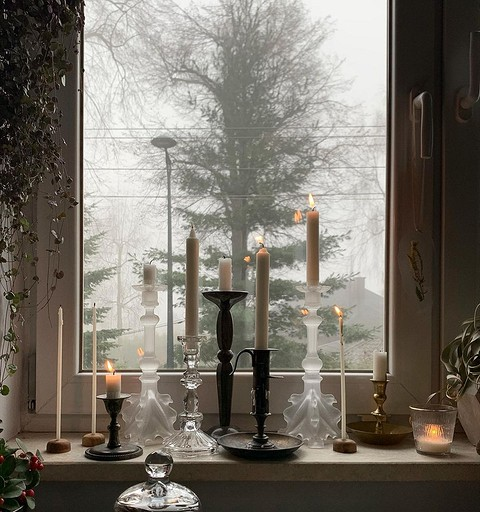 Классические восковые свечи о&#...