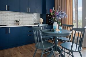 Шторы на кухню в современном стиле (31 фото)