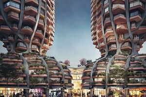 Форма тюльпана и общий подиум: архитекторы показали проект жилых небоскребов в Ванкувере