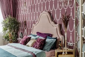 Праздничный интерьер маленькой квартиры с деталями в стиле ар-деко