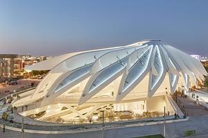 Здание с крыльями: архитектор создал необычный павильон к Dubai Expo 2020