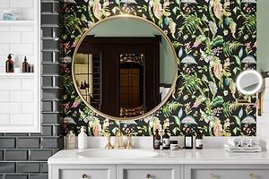 Чем отделать стены и пол в ванной, кроме плитки: 12 практичных вариантов