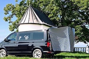 Дизайнер создал дом на колесах из небольшого фургона