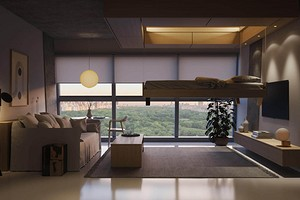 В Нью-Йорке создали умную систему хранения: она автоматически выдвигает кровати и ящики