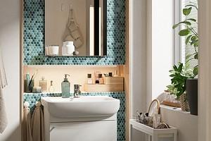 7 зарубежных ванных комнат с мебелью ИКЕА (это красиво!)
