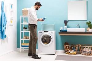 Комфортная стирка: новая узкая стирально-сушильная машина Candy Smart Pro с Wi-Fi