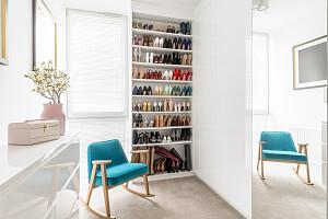 5 потрясающих примеров гардеробных комнат