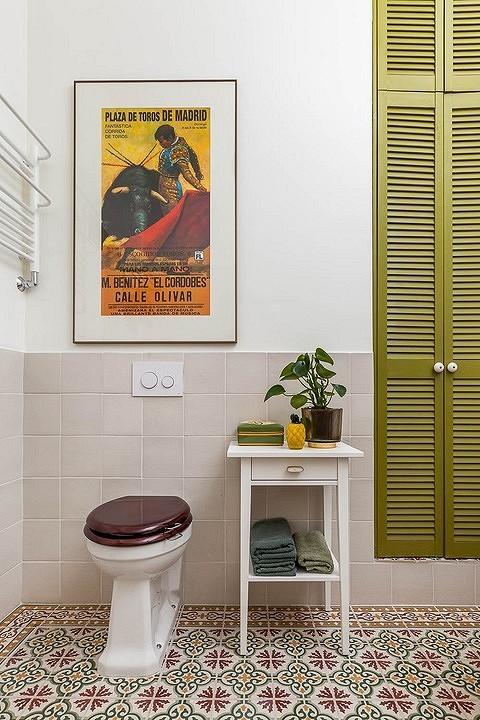 Эта ванная — из минской квартир...