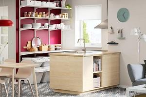 8 классных идей от ИКЕА для оформления открытых полок на кухне