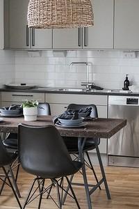 Из чего лучше сделать пол на кухне: 6 материалов (не только плитка!)