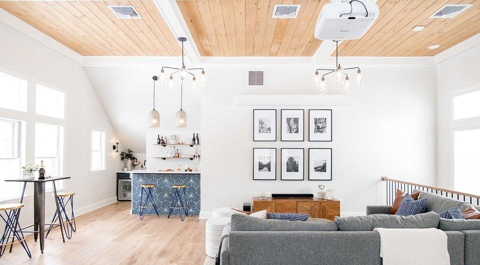 6 комнат, где телевизор заменили проектором (а вы бы хотели?)