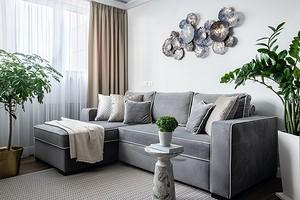 Угловой диван в интерьере (33 фото)