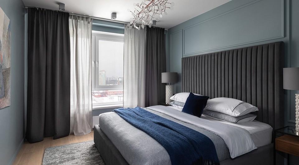 «Основа спальни — контраст се...