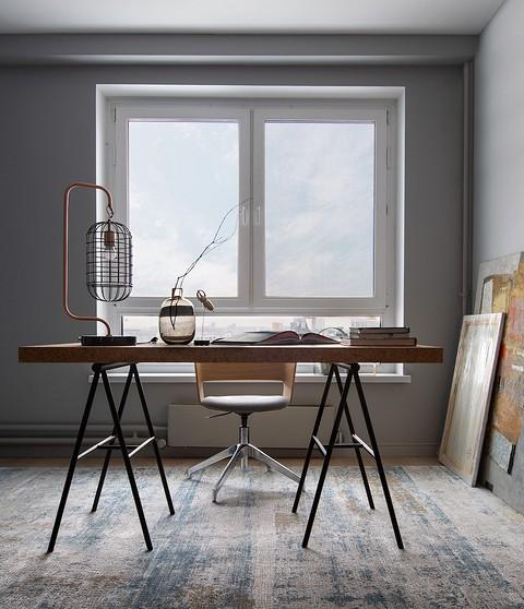 Мебель в кабинете — рабочая гру...