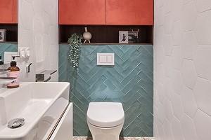 4 способа оформить шкаф в туалете над унитазом (и как делать не стоит)