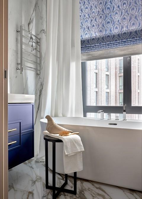 Приватная ванная комната. Сини&...