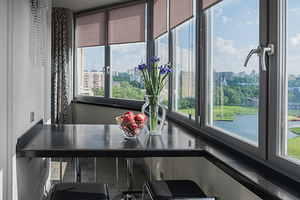 Дизайн балкона площадью 9 кв. м: оформляем большое пространство красиво и функционально
