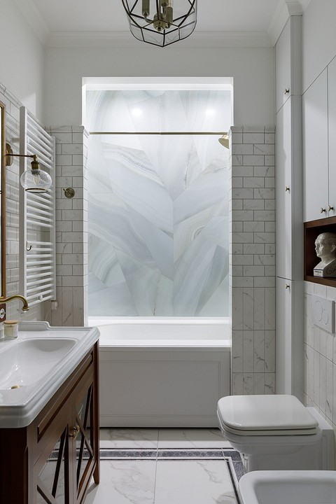 Ванная комната — вытянутая. Что...