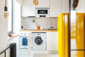 5 мест для размещения стиральной машины (кроме ванной)