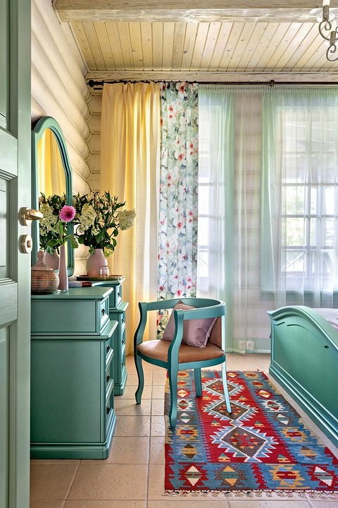 Цветовая палитра гостевой спа&#...