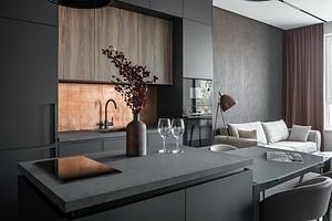 Интерьер небольшой квартиры, в котором собраны современные тренды