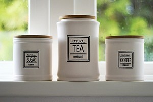 12 интересных и удобных способов хранить кофе и чай на кухне