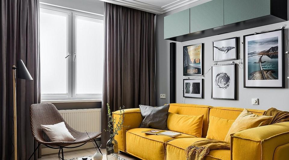 Модные шторы в гостиную в современном стиле (52 фото)