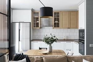 Квартира 45 кв. м с удобной планировкой и красивой отделкой