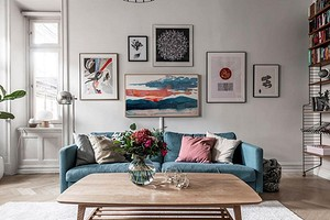 Картины над диваном: 6 правил и советов по выбору и расположению