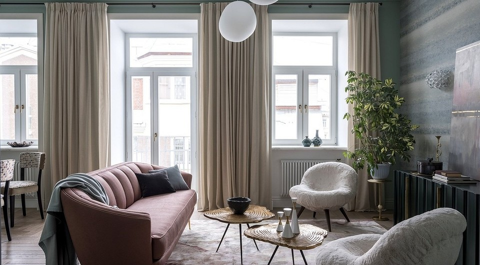 5 актуальных решений в дизайне окна в гостиной