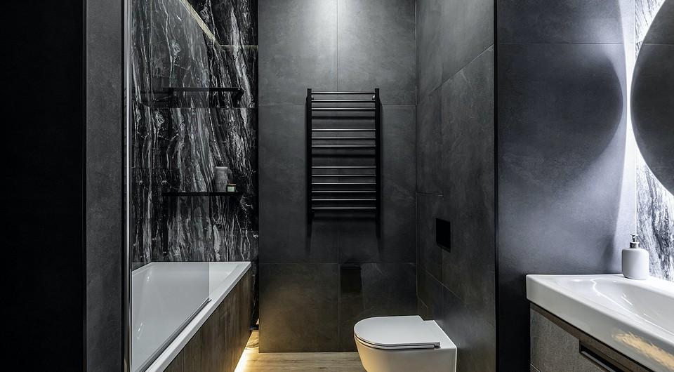 Дизайн ванной комнаты в кварти&...