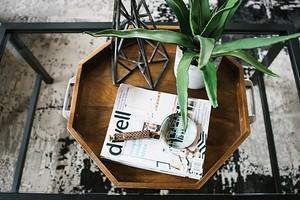 11 умных идей для хранения журналов дома