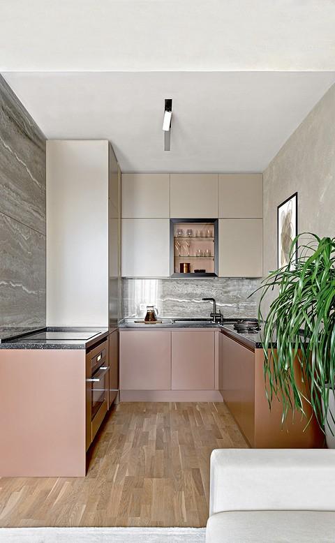 Кухонный гарнитур в современн&#...