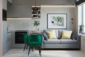 5 идеальных цветовых приемов для интерьера маленькой квартиры