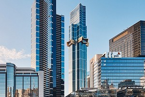 Золотая звезда и зеленая автостоянка: в Австралии построили 100-этажный жилой небоскреб