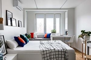 48 фото комнат с белой мебелью в интерьере